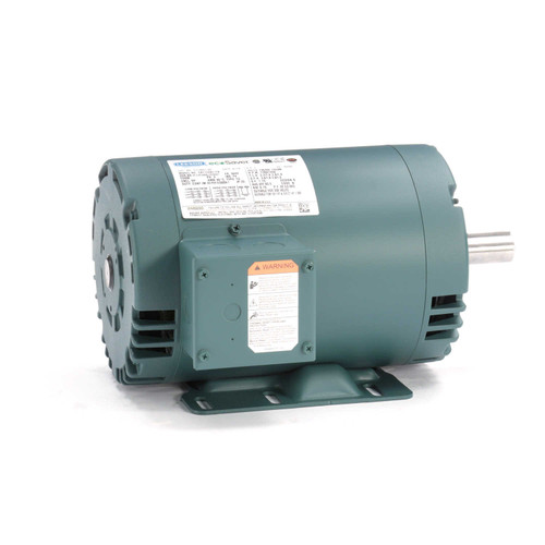 E115827.00 Leeson |  1 hp 1725 RPM 56HZ (143T) Frame 230/460 Volts Open Drip