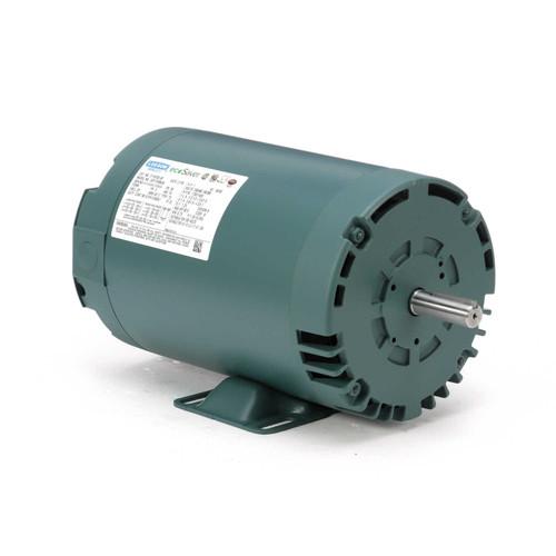 1 hp 1725 RPM 56 Frame 230/460V Open Drip Leeson Electric Motor # E116752