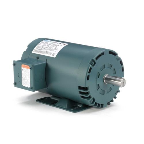 1.5 hp 1725 RPM 56HZ (143T) Frame 208-230/460V Open Drip Leeson Electric Motor # E115825