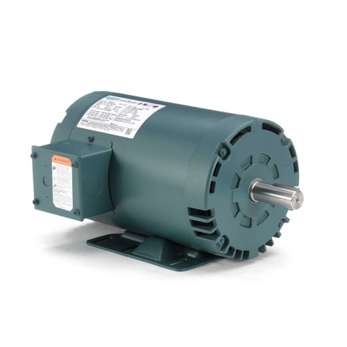 1.5 hp 1725 RPM 56HZ (143T) Frame 208-230/460V Open Drip Leeson Electric Motor # E115825