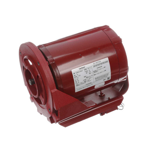 HW2024BL Century 1/4 hp 1725 RPM 115V Hot Water Circulator Motor Century # HW2024BL