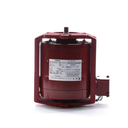 HW2024B1L Century 1/4 hp 1725 RPM 115V Hot Water Circulator Motor Century # HW2024B1L