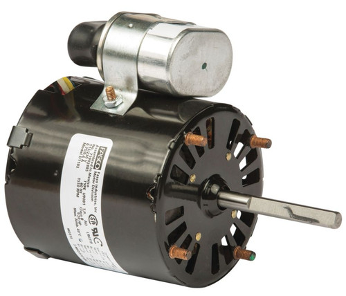 "Fasco D1102 Motor | 1/20 hp 1550 RPM CW 3.3"" Dia 115-230V (Westinghouse, Witt)"