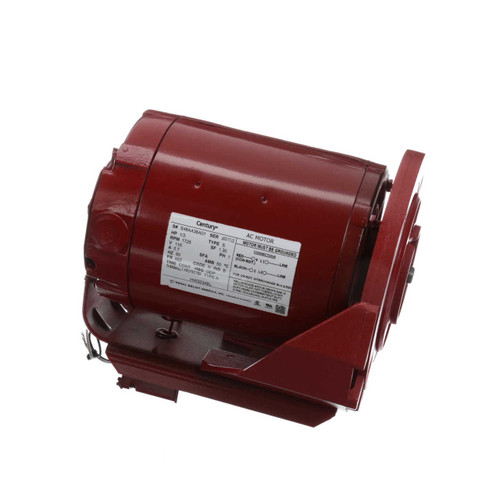 HW2034BL Century 1/3 hp 1725 RPM 115V Hot Water Circulator Motor Century # HW2034BL