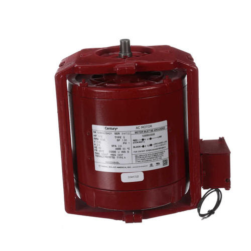 HW20084BL Century 1/12 hp 1725 RPM 115V Hot Water Circulator Motor Century # HW20084BL