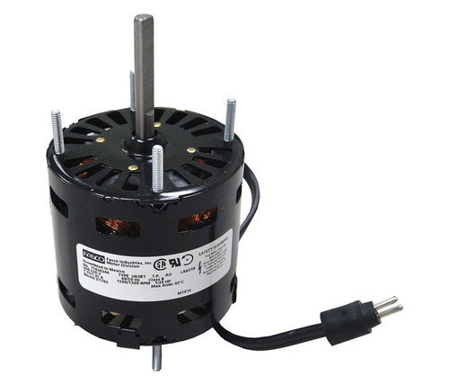 "Fasco D1103 Motor | 1/20 hp 1550 RPM CCW 3.3"" Dia 208-230V (Larkin 7163-3371, 253-1195)"