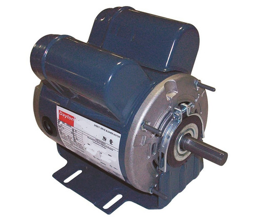 4VAG8 Dayton 4VAG8 Dayton 1 hp 1725 RPM 115/208-230V Belt Drive Hi-Temp Cap-Start/run Motor