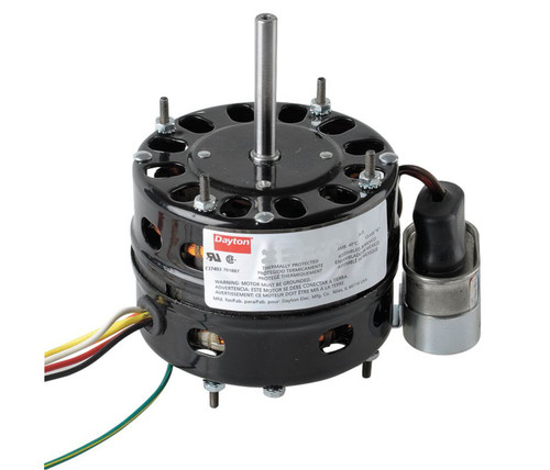 10J174 Dayton 1/10 HP 1625 RPM 115V 4.4 Diameter Open PSC Fan Motor