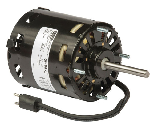"Fasco D1120 Motor | 1/20 hp 1550 RPM CW 3.3"" Dia. 115V (Keeprite 7163-8722, 1043336)"