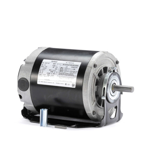 Carbonator Pump Motor 1//4 hp 1725 RPM 115//230 Volts Century # CB2024AD