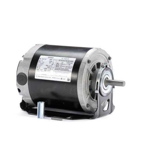 GF2034D Century 1/3 hp 1725 RPM 48 Frame 115/230V Belt Drive Furnace Motor Century # GF2034D