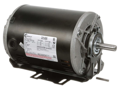 F680V1 Century 3/4 hp 1725 RPM 56 Frame 115/230V Belt Drive Blower
