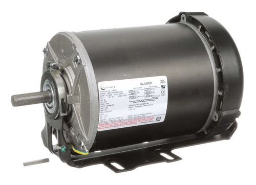 F353V1 Century 3/4 hp 1725 RPM 56 Frame 115V TEFC Belt Drive Blower Motor