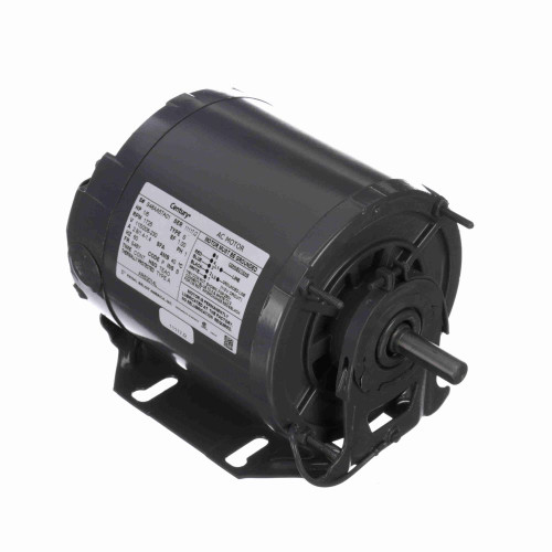 ARB2014L Century 1/6 hp 1725 RPM 48Y Frame 115-208/230V Belt Drive TEAO Blower Motor Century # ARB2014L
