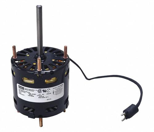 """1/15 hp 1550RPM CW 3.3"""" Diameter 208-230V Refrigeration Motor Fasco # D1126"""