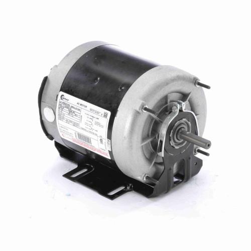 1/6 hp 1140 RPM 56Z Frame 115V Belt Drive TEAO Blower Motor Century # ARB2016M