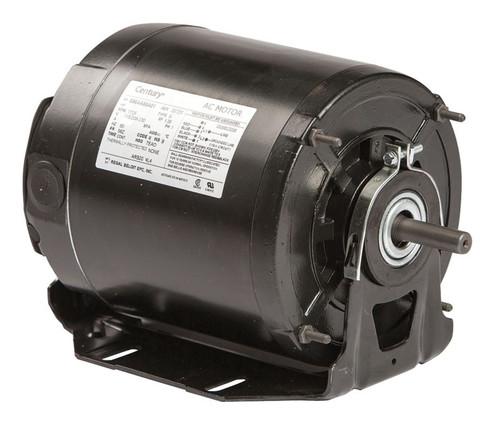 ARB2024L4 Century 1/4 hp 1725 RPM 48Y Frame 115-208/230V Belt Drive TEAO Blower Motor Century # ARB2024L4