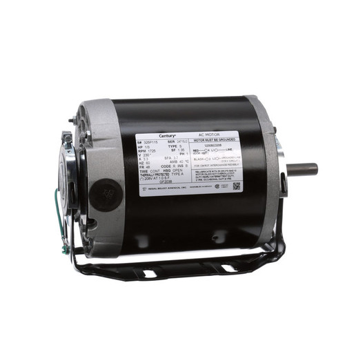 1/3 hp 1725 RPM 48 Frame 230V Belt Drive Blower Motor Century # GF2038