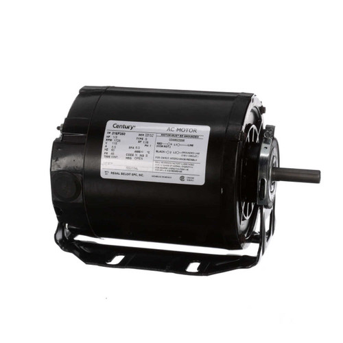 1/3 hp 1725 RPM 48 Frame 115V Belt Drive Blower Motor Century # RS2034L