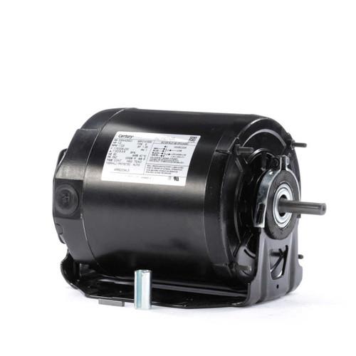 ARB2034L5 Century 1/3 hp 1725 RPM 56Z Frame 115/208-230V Belt Drive TEAO Blower Motor Century # ARB2034L5
