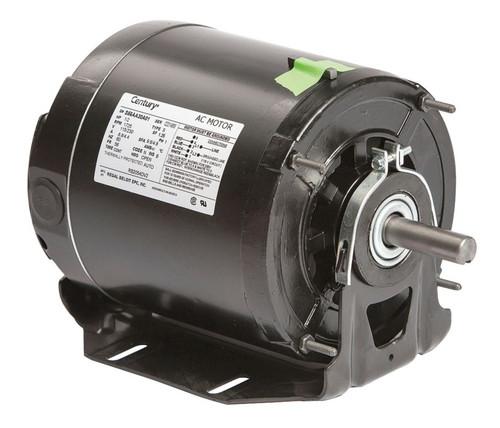 RB2054DV2 Century 1/2 hp 1725 RPM 56 Frame 115/230V Belt Drive Blower Motor Ball Brg Century # RB2054DV2