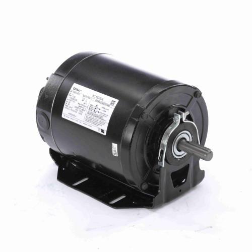 ARB2054L4 Century 1/2 hp 1725 RPM 56 Frame 115/208-230V Belt Drive TEAO Blower Motor Century # ARB2054L4