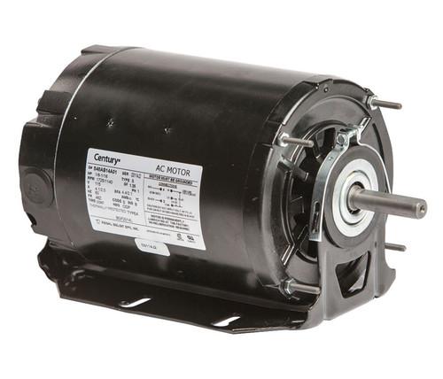 BGF2014L Century 1/6 hp 1725 RPM 2-SPD 48Z Frame 115V Belt Drive Blower Motor Ball Brg Century # BGF2014L