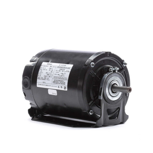 1/4 hp 1725 RPM 2-SPD 48 Frame 230V Belt Drive Blower Motor Ball Brg Century # 927AL