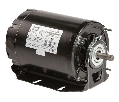 Model 925L Century 1/3 hp 1725 RPM 2-SPD 48Z Frame 115V Belt Drive Blower Motor Ball Brg Century # 925L