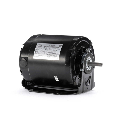 1/3 hp 1725 RPM 2-SPD 56Z Frame 115V Belt Drive Blower Motor Century # SGF2034V4