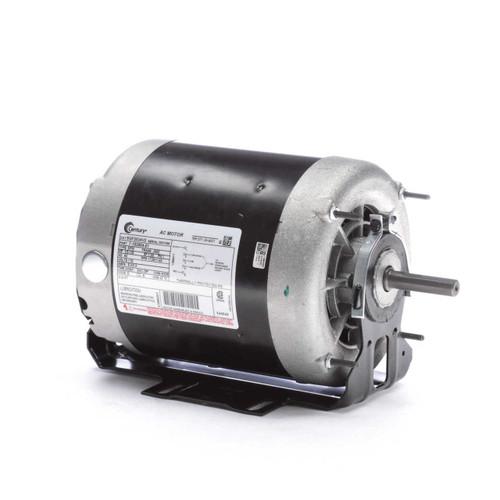 SGF2034V2 Century 1/3 hp 1725 RPM 2-SPD 56Z Frame 115V Belt Drive Blower Motor Century # SGF2034V2