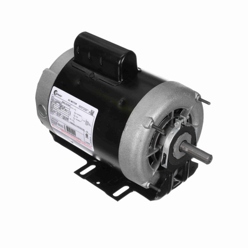 1/2 hp 1725 RPM 2-SPD 56 Frame 115V Belt Drive Ball Brg Blower Motor Century # C535