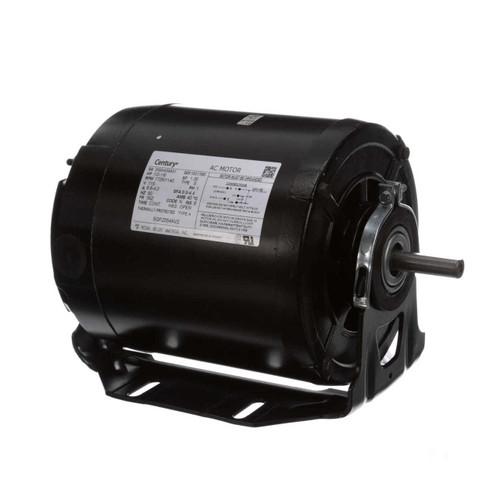 1/2 hp 1725 RPM 2-SPD 56Z Frame 115V Belt Drive Blower Motor Century # SGF2054AV2
