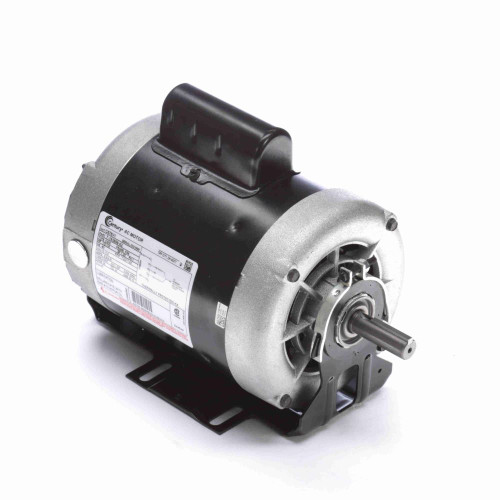 C678V1 Century 1/2 hp 1725 RPM 2-SPD 56 Fr 115V Belt Drive Blower Mtr Cap Start Century # C678V1
