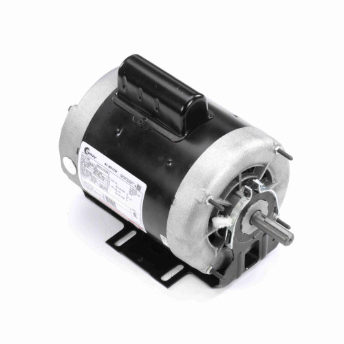3/4 hp 1725 RPM 2-SPD 208-230V Belt Drive Blower Mtr Cap Start Century # C448