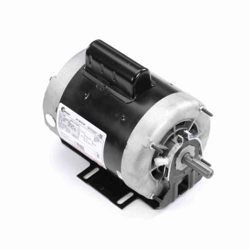 3/4 hp 1725 RPM 2-SPD 208-230V Belt Drive Blower Mtr Cap Start Century # C448