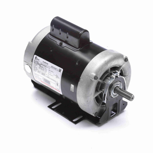 3/4 hp 1725 RPM 2-SPD 56 Fr 230V Belt Drive Blower Mtr Cap Start Century # C742V1