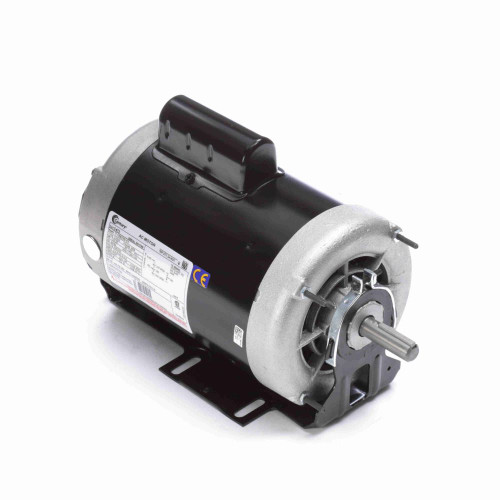 1 hp 1725 RPM 2-SPD 56 Fr 230V Belt Drive Blower Motor Cap Start Century # C472