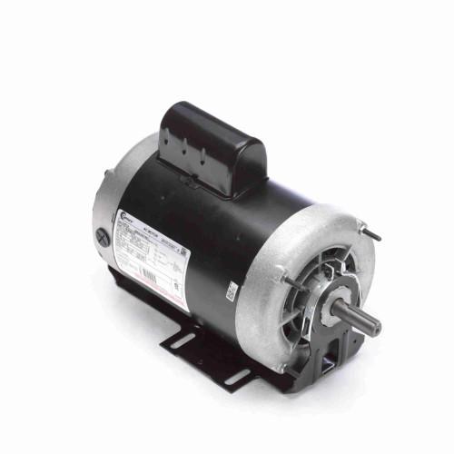 C471A Century 1 hp 1725 RPM 2-SPD 56 Fr 115V Belt Drive Blower Motor Cap Start Century # C471A