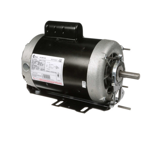 1 hp 1725 RPM 2-SPD 56 Fr 230V Belt Drive Blower Motor Cap Start Century # C472V1