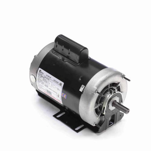C472A Century 1 hp 1725 RPM 2-SPD 56 Fr 230V Belt Drive Blower Motor Cap Start Century # C472A