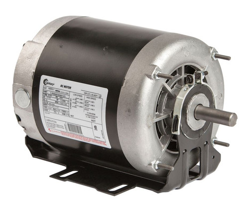H655V1 Century 1/2 hp 1725 RPM 2-SPD 56 Fr 200-230V Belt Drive Blower Motor 3-Phase Century # H655V1