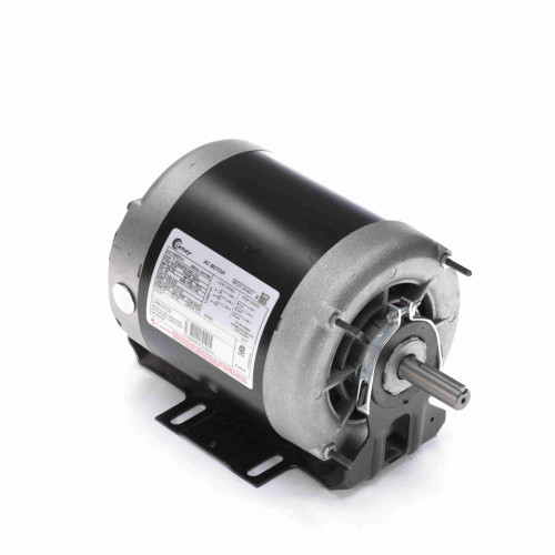 3/4 hp 1725 RPM 2-SPD 56 Fr 200-230V Belt Drive Blower Motor 3-Phase Century # H657V1