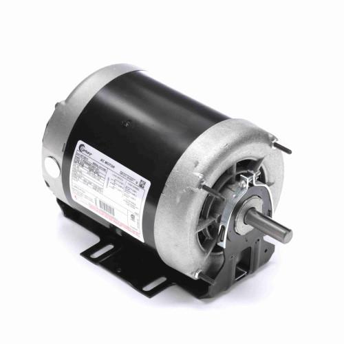 H718V1 Century 1 hp 1725 RPM 2-SPD 56 Fr 460V Belt Drive Blower Motor 3-Phase Century # H718V1