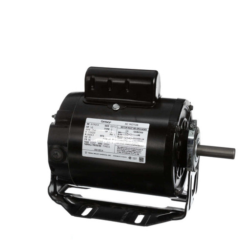 1/2 hp 1725 RPM 56 Frame 115/230V Belt Drive Cap Start Blower Motor Century # RS1051A