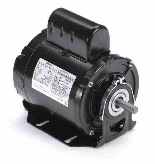 C196L Century 1/4 hp 1725 RPM 48 Frame 115/230V Belt Drive Cap Start Blower Motor Century # C196L