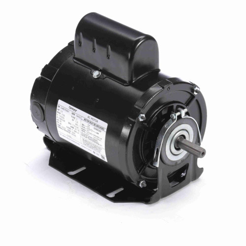 C105L Century 1/3 hp 1725 RPM 48 Frame 115/230V Belt Drive Cap Start Blower Motor Century # C105L