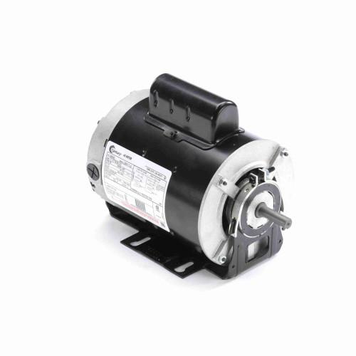 B590 Century 1/2 hp 3450 RPM 48Y Frame 115/208-230V Belt Drive Cap Start Blower Motor Century # B590