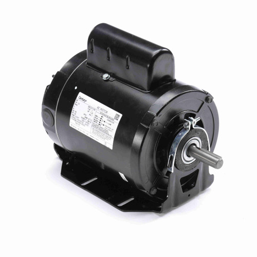 RB1052L Century 1/2 hp 3450 RPM 56 Frame 115/208-230V Belt Drive Cap Start Blower Motor Century # RB1052L