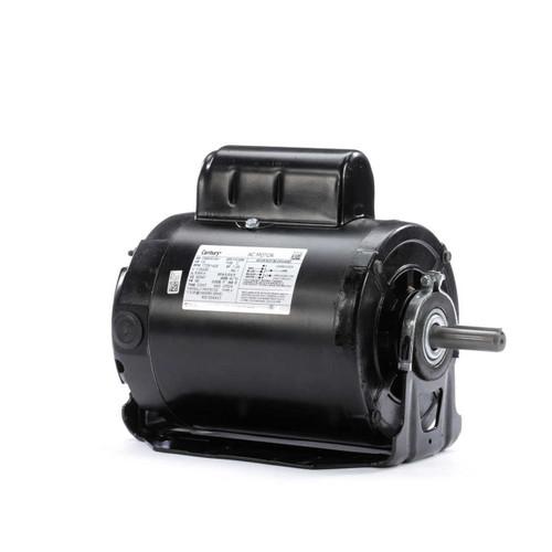 RS1054AV1 Century 1/2 hp 1725 RPM 56 Frame 115/230V 50/60 hz Belt Drive Cap Start Blower Motor Century # RS1054AV1